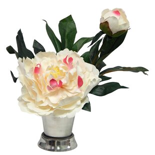 d74f9efee017 Peony Blossom in Mint Julep Cup