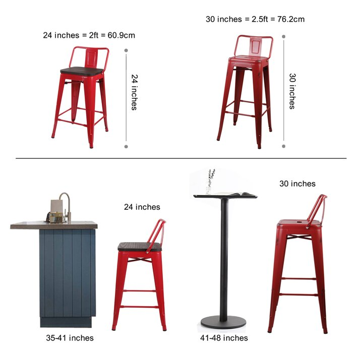 Super Alric Bar Counter Stool Squirreltailoven Fun Painted Chair Ideas Images Squirreltailovenorg