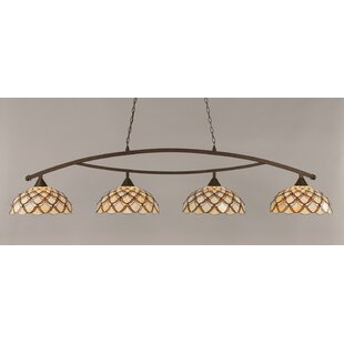 Austinburg 4-Light 150W Billiard Light by Astoria Grand