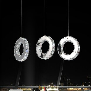 Bacon 18-Light LED Cluster Pendant by Orren Ellis