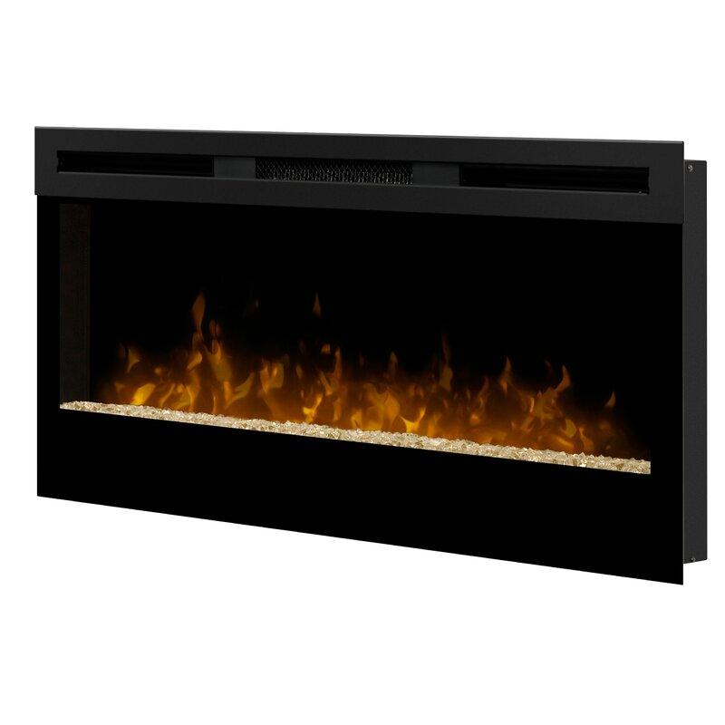 Dimplex Wickson Wall Mounted Electric Fireplace Reviews Wayfair