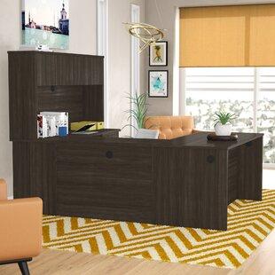 Karyn U-Shape Executive Desk with Hutch