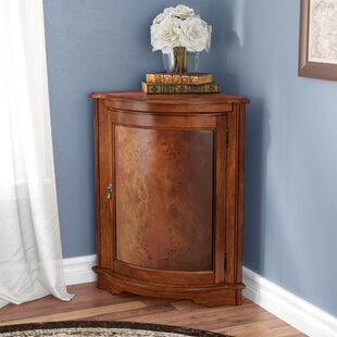Black Mesa Corner Accent Cabinet by Darby Home Co