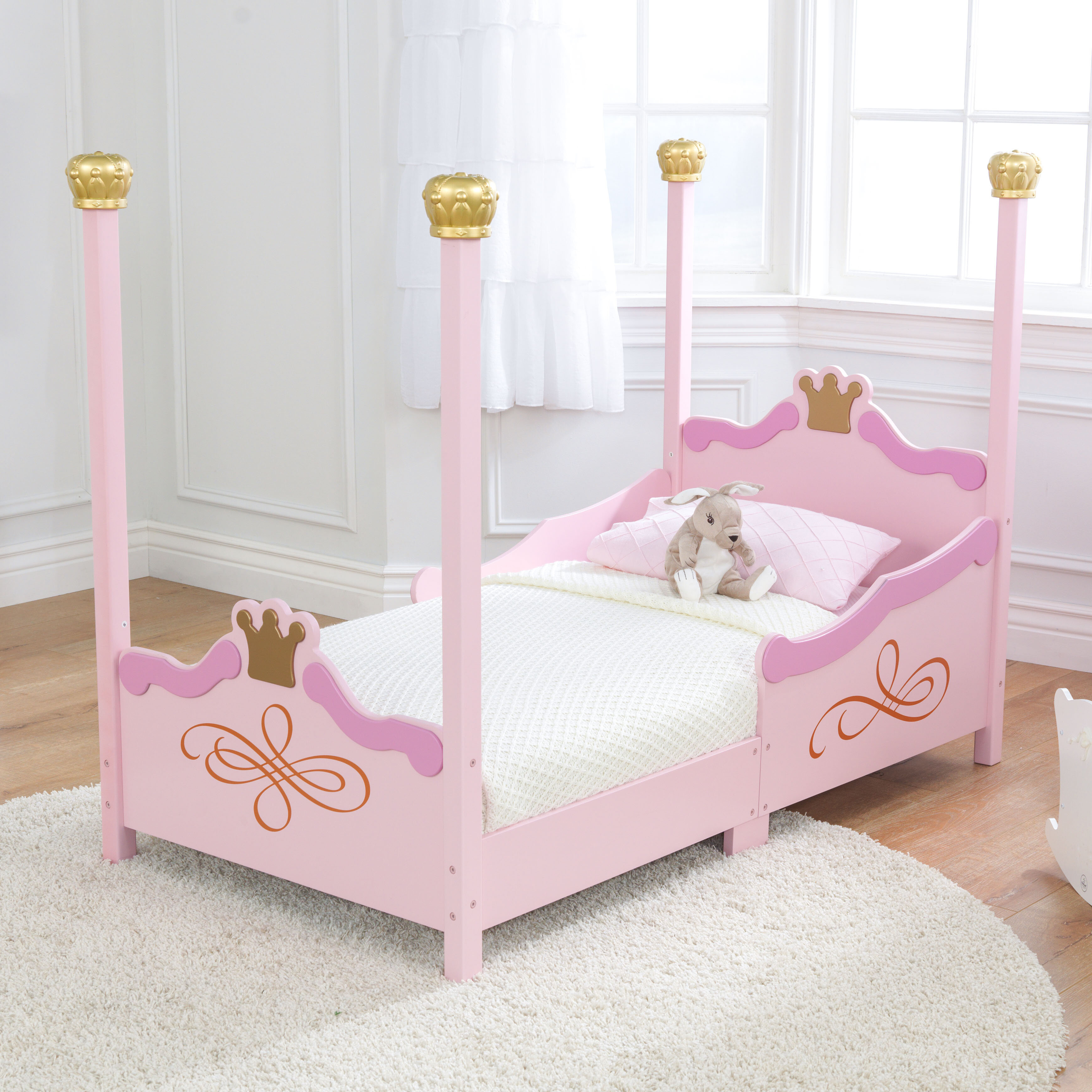 Picture of: Kidkraft Princess Toddler Four Poster Bed Reviews