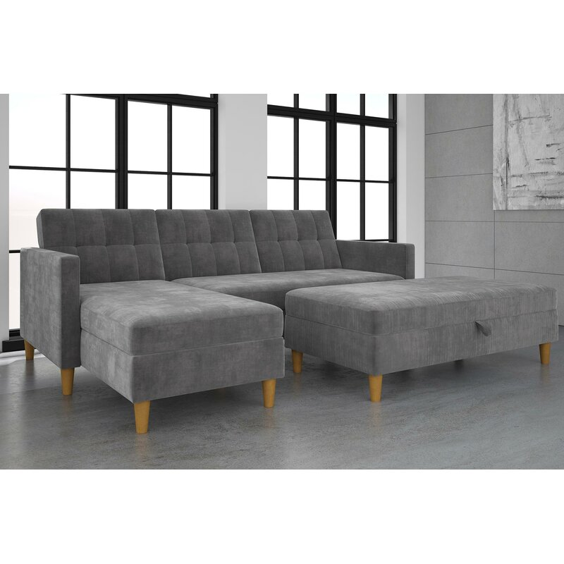 39999 Salcombe Reversible Sleeper Sectional Sofa dealepic