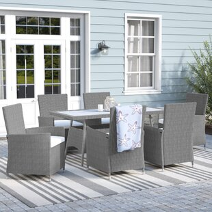 Rosecliff Heights Harris 7 Piece Dining Set