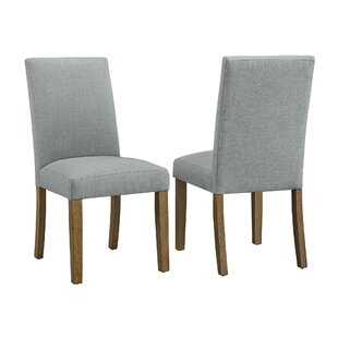 Fulton Upholstered Dining Chair (Set of 2) by CosmoLiving by Cosmopolitan