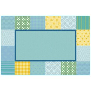 Affordable KIDSoft™ Pattern Blocks Playmat By Carpets for Kids Premium Collection
