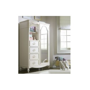 Read Reviews Harmony Mirrored Door Armoire ByWendy Bellissimo by LC Kids