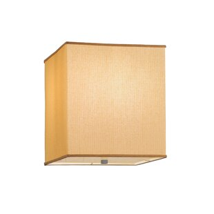 Meyda Tiffany Quadrato Honey Bombay Dimmable 2-Light Flush Mount