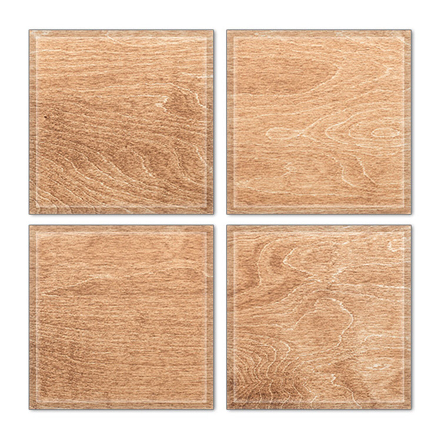 Upscale Designs By Ema 6 X 6 Glass Decorative Accent Tile In Brown Wayfair Ca