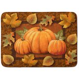 Pumpkin Bathroom Bath Rugs Mats You Ll Love In 2021 Wayfair