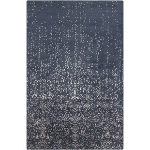 Reviews Holt Blue Abstract Area Rug By Rosdorf Park