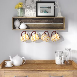 Vicente Coffee Cup Accent Shelf