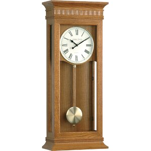 Oak Pendulum Wall Clock