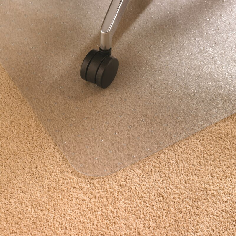 Cleartex High Pile Carpet Straight Edge Chair Mat
