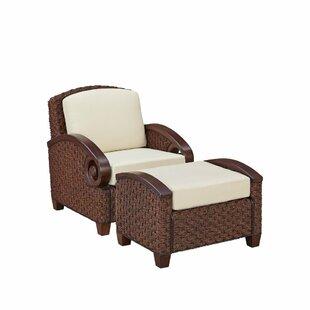 Home Styles Cabana Banana III Armchair with Ottoman
