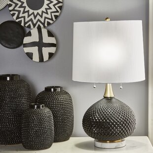 Richey Cut Glass Round 28 Table Lamp