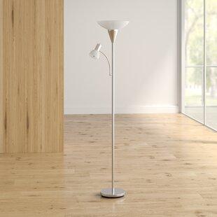 Farlow Side Table 57 Floor Lamp By Mercury Row