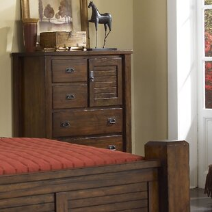 Bison Ridge 5 Drawer Gentleman Chest