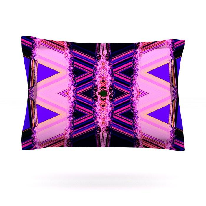 26 x 26 Square Floor Pillow Kess InHouse Nina May Decorama Pink