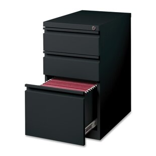 15 W x 22.9 D 3-Drawer Mobile Pedestal File