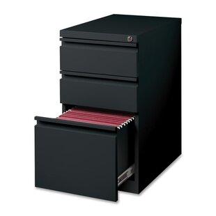 """15"""" W x 22.9"""" D 3-Drawer Mobile Pedestal File by"""