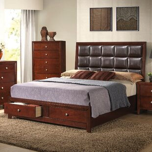 Lamonica Upholstered Storage Panel Bed