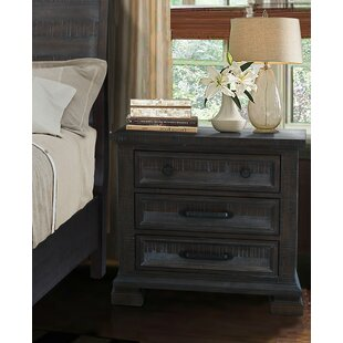 Upney 3 Drawer Nightstand by Gracie Oaks