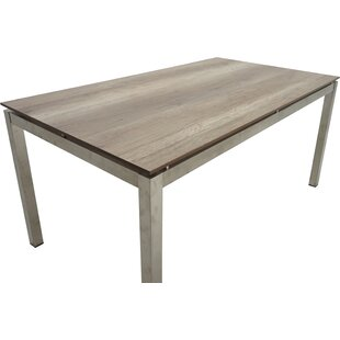Tolham Stainless Steel Dining Table By Sol 72 Outdoor