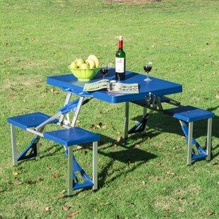 Senecal Folding Aluminium Camping Table Image