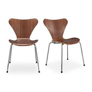 Malwae Dining Chair (Set of 2) by Brayden Studio