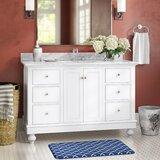 Savanna 48 Single Bathroom Vanity Set by Charlton Home®