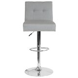Blanco Swivel Adjustable Height Bar Stool by Mercer41