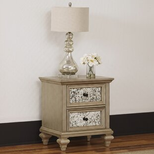 Erica 2 Drawer Nightstand by Rosdorf Park