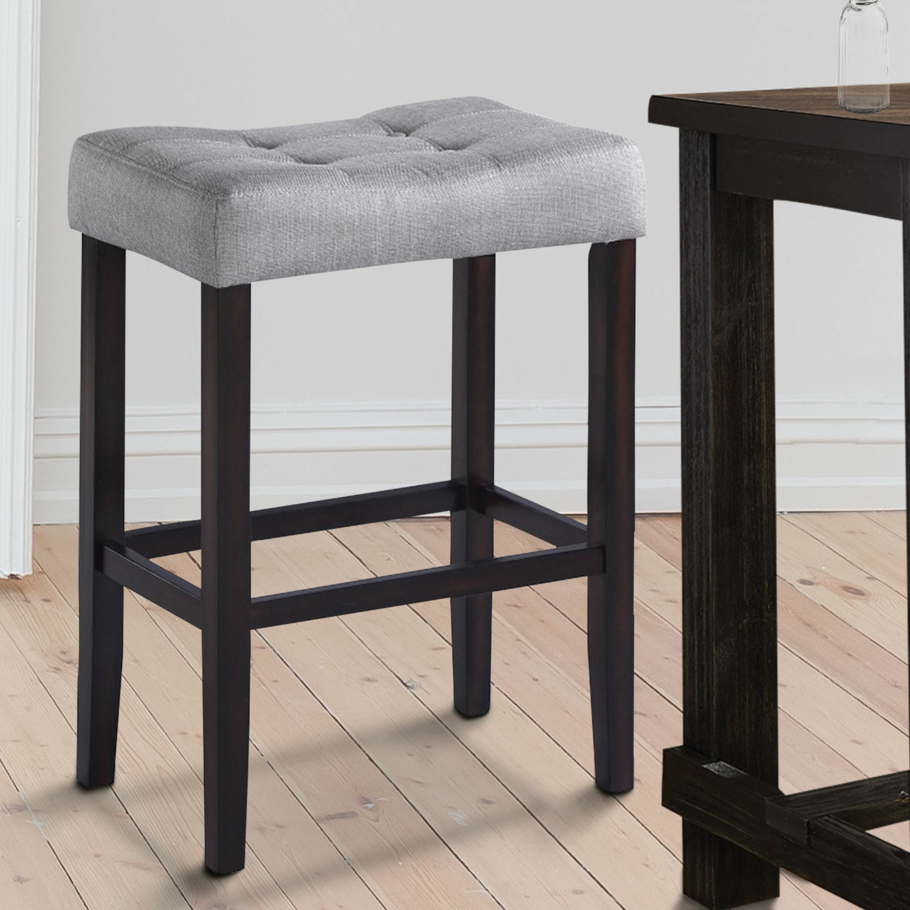 Picture of: Winston Porter Hawkesbury Common Backless 29 Bar Stool Wayfair