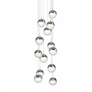 Tabora 13-Light Pendant by Radionic Hi Tech