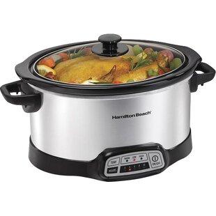 6-Quart Progamable Slow Cooker