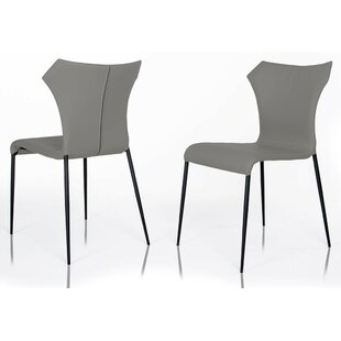 Calmar Leatherette Upholstered Dining Chair (Set of 2)