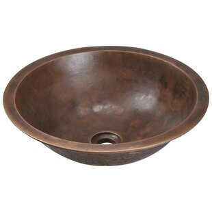 Find for Bronze Circular Vessel Bathroom Sink By MR Direct