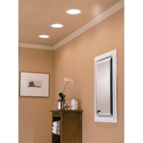 Broan 70 CFM Energy Star Bathroom Fan with Fluorescent Light | Wayfair