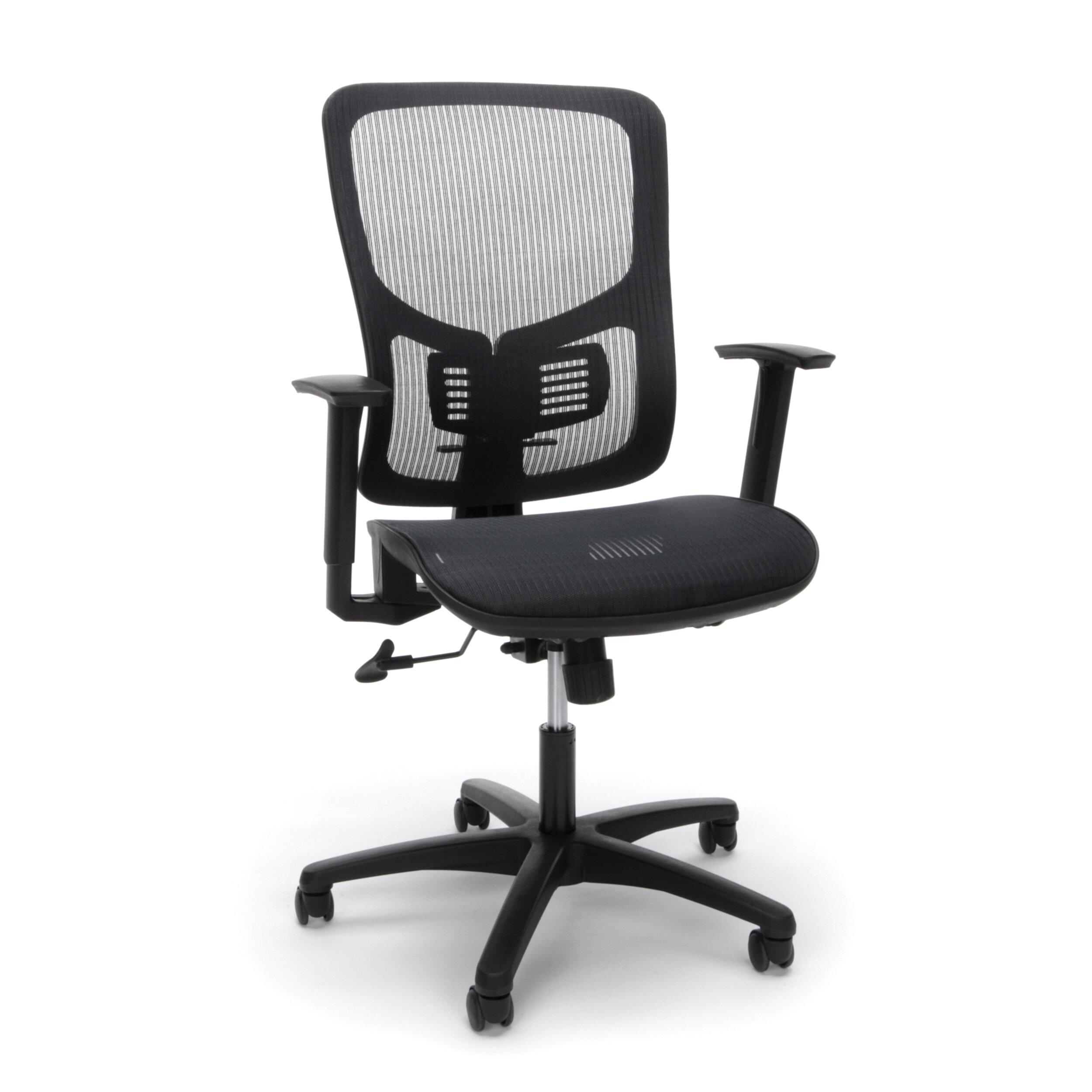 ergonomic all mesh office chair tcentric hybrid all mesh ergonomic