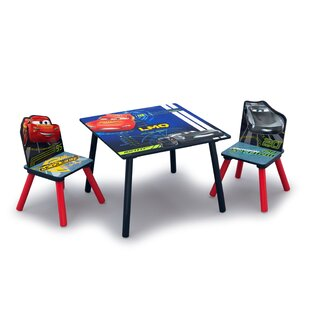 Disney Pixar Cars Children's Table And Chair Set By Cars