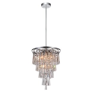 CWI Lighting 6-Light Chandelier