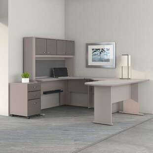 Series A Corner 3 Piece U-Shaped Desk Office Suite by Bush Business Furniture Reviews