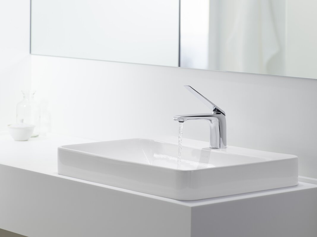 Kohler Vox Rectangular Vessel Bathroom Sink With Overflow Amp Reviews Wayfair