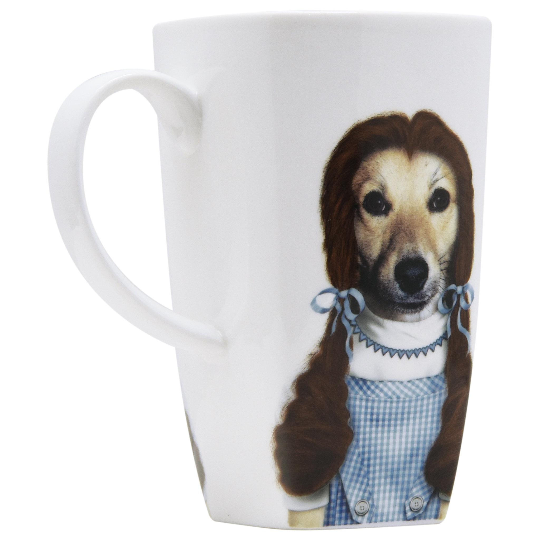 Latitude Run Vennie Ruby Fine Bone China Coffee Mug Wayfair