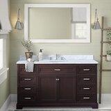 Eliason 60 Single Bathroom Vanity Set by Birch Lane