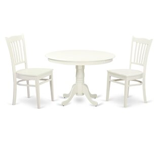 Hartland 3 Piece Dining Set by..