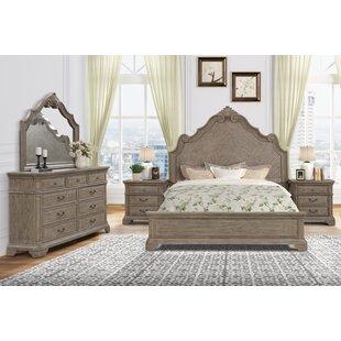 Adelita Solid Wood Standard 5 Piece Bedroom Set by Ophelia amp Co